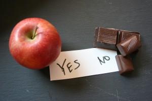 Magersucht Apfel