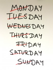 Montag ist auch nur ein Tag