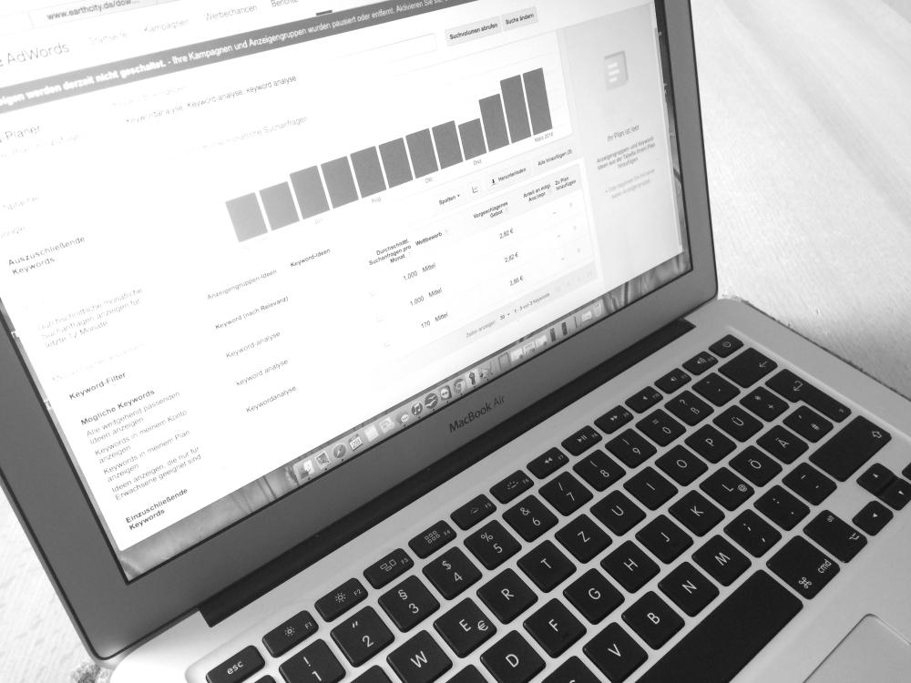 SEA und SEO - Online-Marketing von Texterin Tabea Lettau