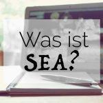 Was ist SEA Suchmaschinenmarketing