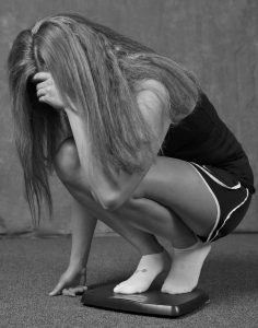 Gewichtskontrollen-Zwang Waage